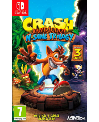 CRASH BANDICOOT N. SANE TRILOGY – Nintendo Switch