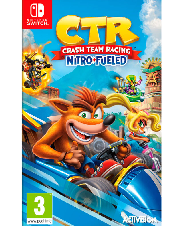 CRASH TEAM RACING NITRO FUELED PACKSHOT NTS