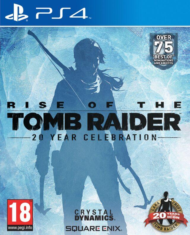 RISE OF THE TOMB RAIDER 20 YEAR CELEB PACKSHOT PS4