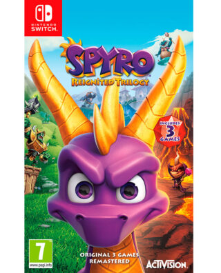 SPYRO REIGNITED TRIOLOGY – Nintendo Switch