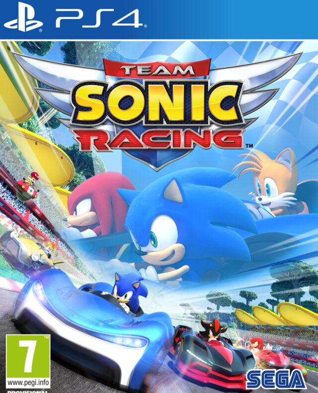 TEAM SONIC RACING PACKSHOT PS4