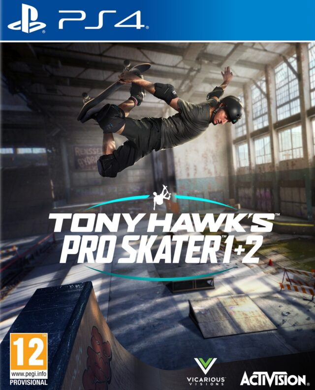 TONY HAWKS PRO SKATER 12 PS4