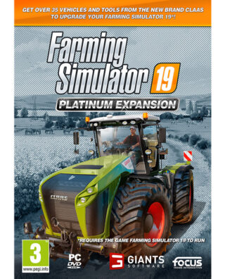 FARMING SIMULATOR 19 PLATINUM EXPANSION – PC