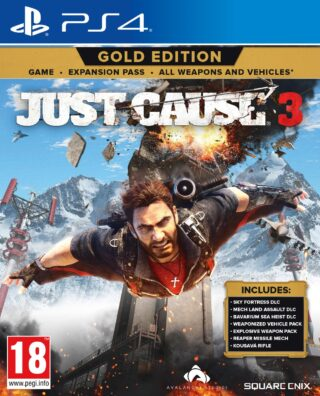 JUST CAUSE 3 GOLD EDITION – PS4