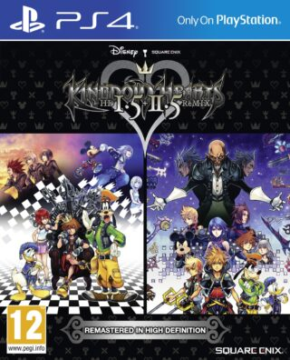 KINGDOM HEARTS HD 1.5 + 2.5 REMIX – PS4