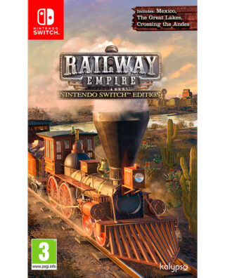RAILWAY EMPIRE SWITCH EDITION – Nintendo Switch