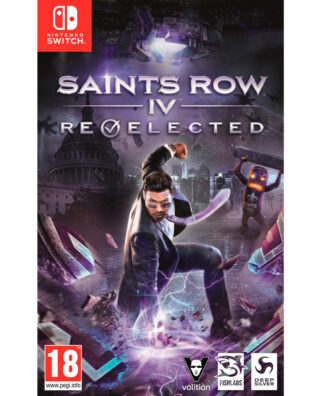 SAINTS ROW IV RE-ELECTED – Nintendo Switch