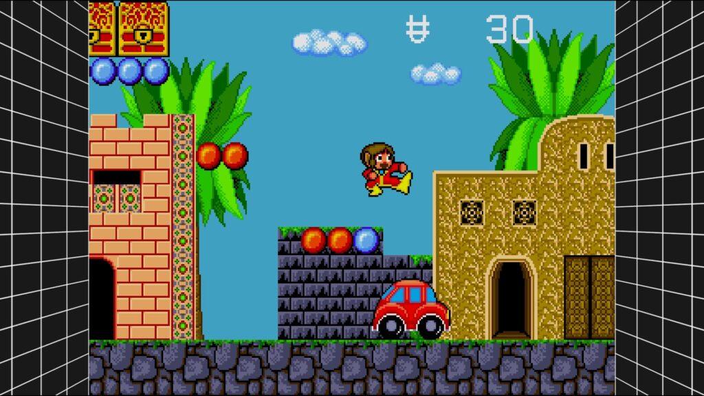 SEGA Mega Drive Classics AlexKidd