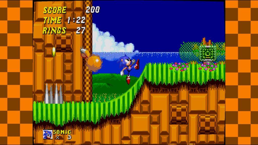 SEGA Mega Drive Classics Sonic