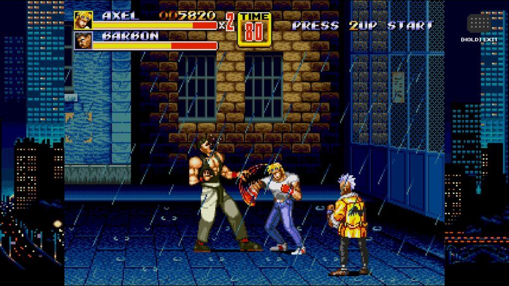 SEGA Mega Drive Classics StreetsOfRage