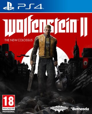 WOLFENSTEIN II THE NEW COLOSSUS – PS4