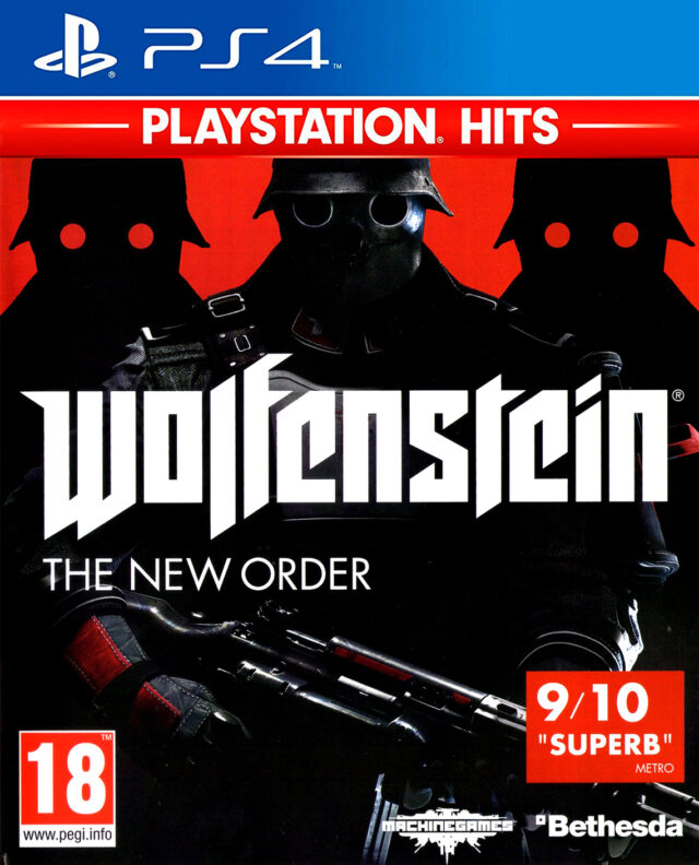 WOLFENSTEIN THE NEW ORDER PLAYSTATION HITS ps4