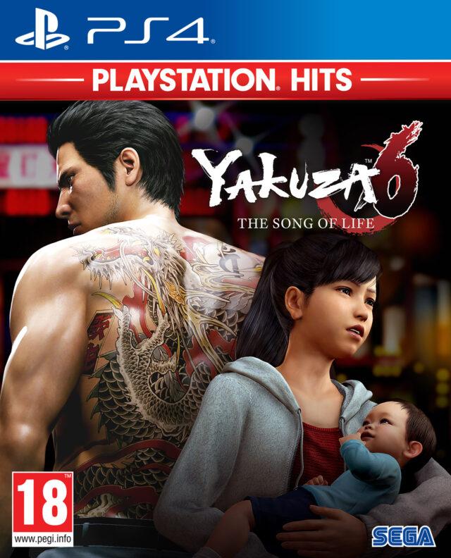YAKUZA 6 THE SONG OF LIFE PS HITS PS4