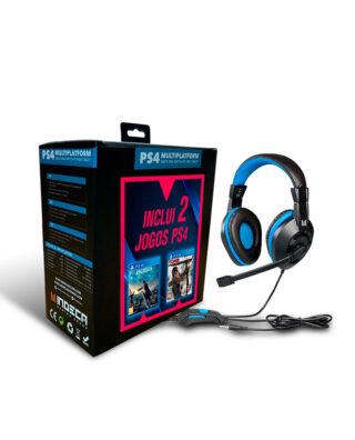 FINAL FANTASY XV + TOMB RAIDER DEFINITIVE EDITION + AUSCULTADORES – PS4