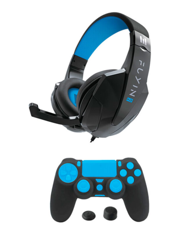 AUSCULTADORES PS4 FUYIN 2 PACK AUDIO