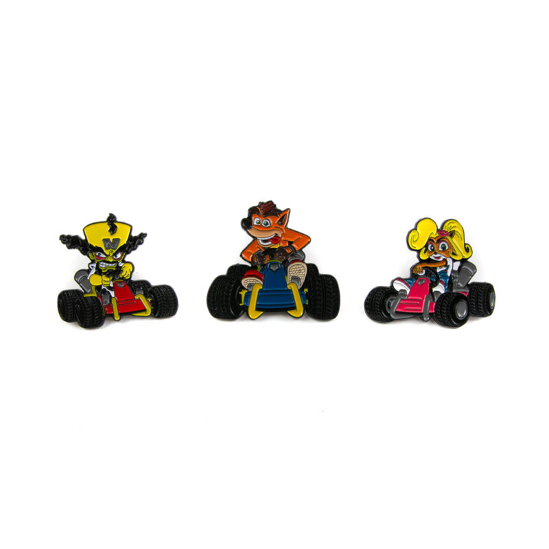 CAIXA DE PINS CRASH TEAM RACING