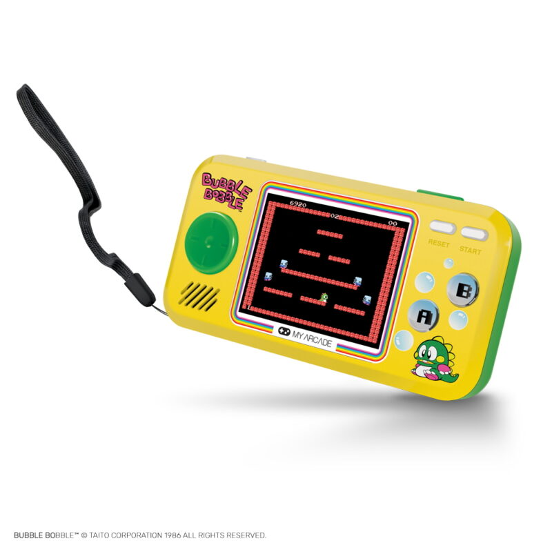 CONSOLA RETRO POCKET PLAYER BUBBLE BOBBLE