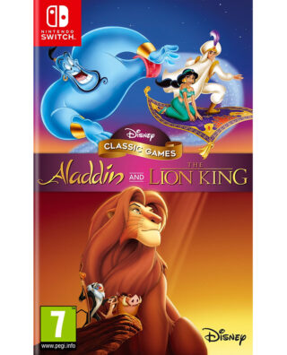 DISNEY CLASSICS ALADDIN AND THE LION KING – Nintendo Switch