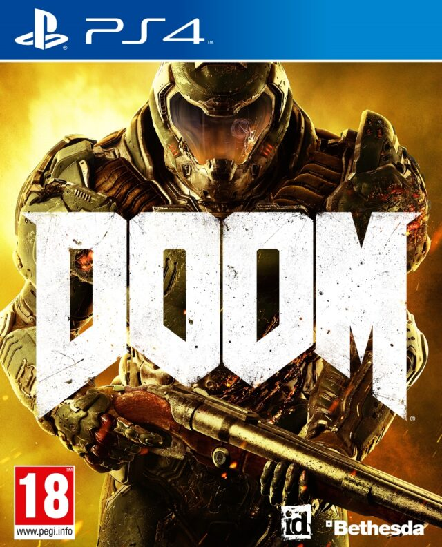 DOOM + STEELBOOK – PS4