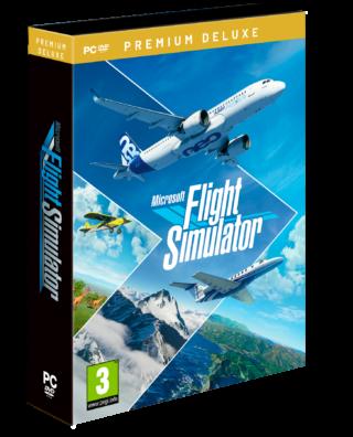 MICROSOFT FLIGHT SIMULATOR PREMIUM DELUXE EDITION – PC