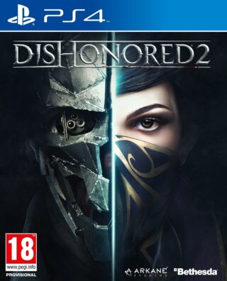 DISHONORED 2 + STEELBOOK – PS4