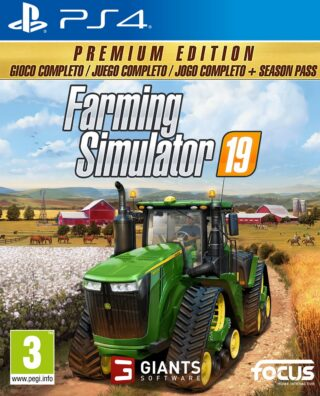 FARMING SIMULATOR 19 PREMIUM EDITION – PS4