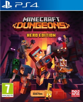 MINECRAFT DUNGEONS HERO EDITION – PS4