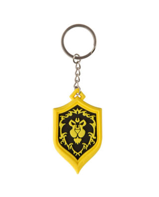 PORTA-CHAVES WARCRAFT – BADGE ALIANCA