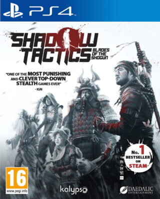 SHADOW TACTICS THE BLADES OF THE SHOGUN – PS4