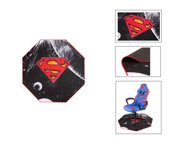 TAPETE DE CHAO GAMING SUPERMAN 1