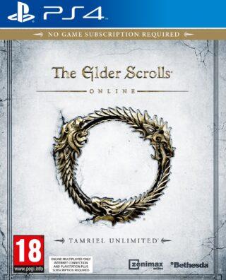 THE ELDER SCROLLS ONLINE TAMRIEL UNLIMITED – PS4