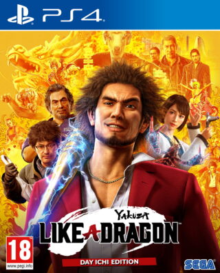 YAKUZA LIKE A DRAGON – PS4