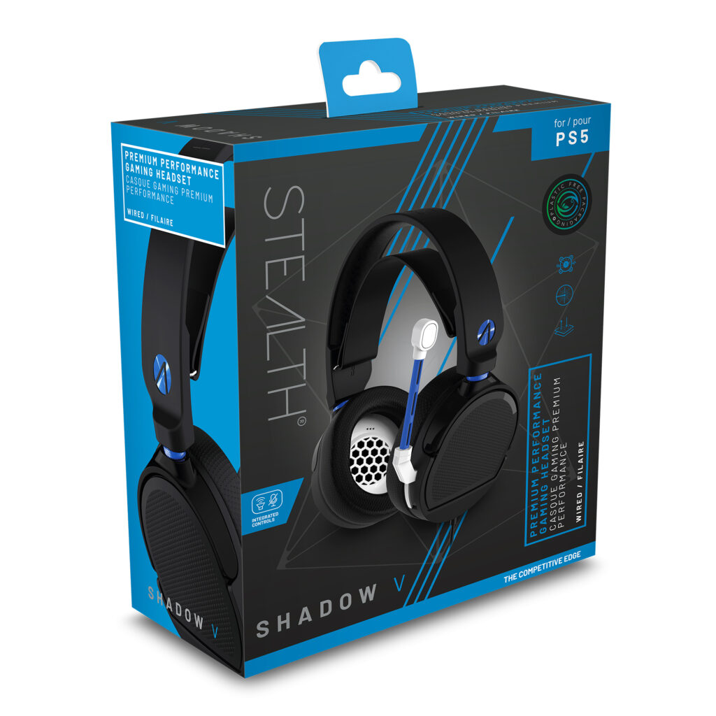 AUSCULTADORES GAMING STEALTH SHADOW V