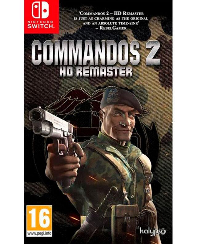 COMMANDOS 2 HD REMASTER nts