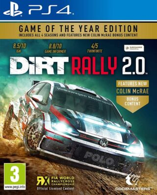 DIRT RALLY 2.0 GAME OF THE YEAR – PS4