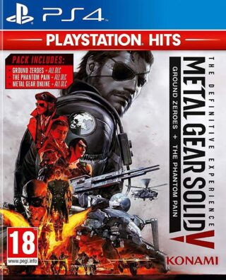 METAL GEAR SOLID V THE DEFINITIVE EXPERIENCE – PLAYSTATION HITS – PS4