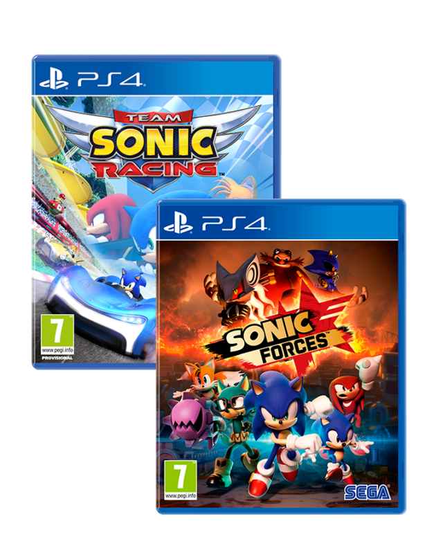 SONIC FORCES + TEAM SONIC RACING – PS4