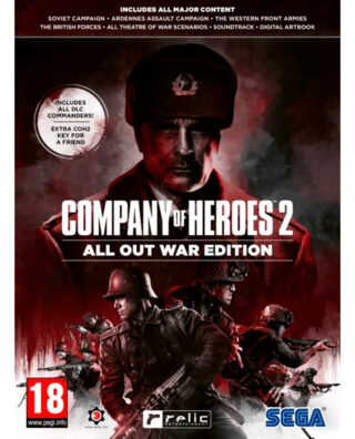 COMPANY OF HEROES 2 ALL OUT WAR EDITION – PC