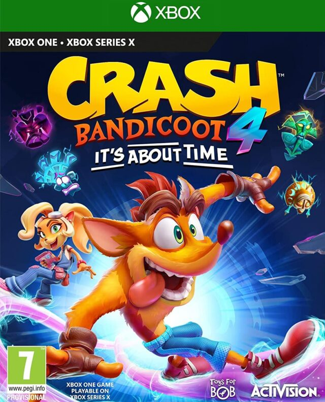 CRASH BANDICOOT 4 ITS ABOUT TIME xon
