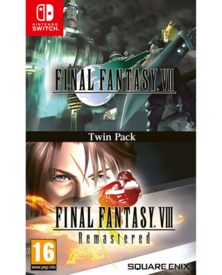 FINAL FANTASY VII & FINAL FANTASY VIII REMASTERED TWIN PACK – Nintendo Switch