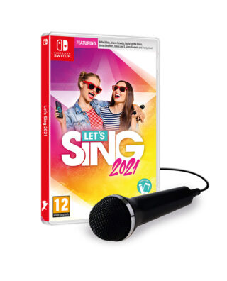 LET'S SING 2021 + 1 MICRO – Nintendo Switch