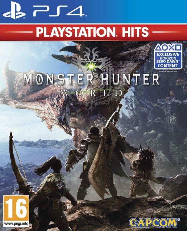 MONSTER HUNTER WORLD PLAYSTATION HITS PS4