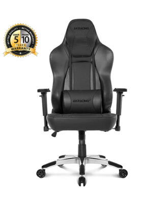 CADEIRA AKRACING OFFICE OBSIDIAN – PRETO/CARBONO