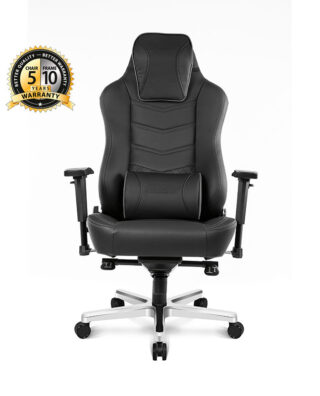 CADEIRA AKRACING OFFICE ONYX – PRETO