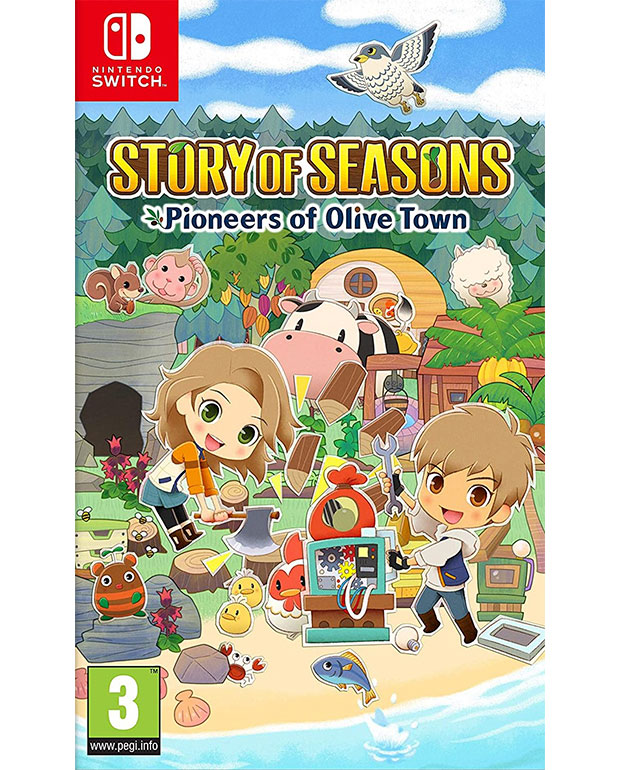 STORY OF SEASONS - PIONEERS OF OLIVE TOWN - Nintendo Switch