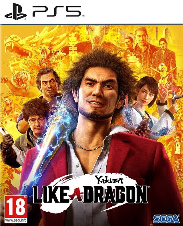 YAKUZA LIKE A DRAGON – PS5