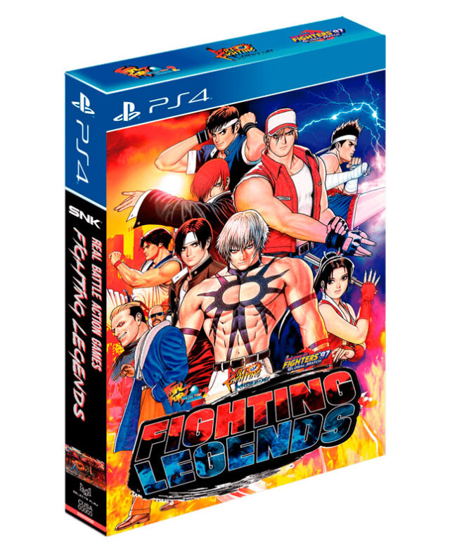 FIGHTING LEGENDS COLLECTORS EDITION PS4 8424365720700