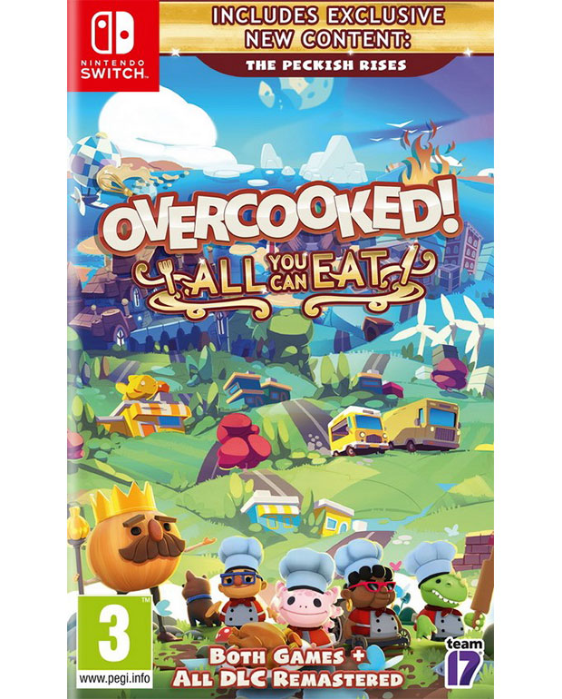 OVERCOOKED ALL YOU CAN EAT NTS