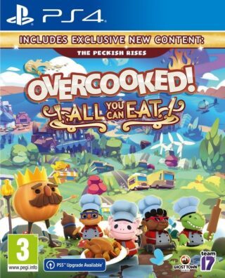 OVERCOOKED ALL YOU CAN EAT – PS4