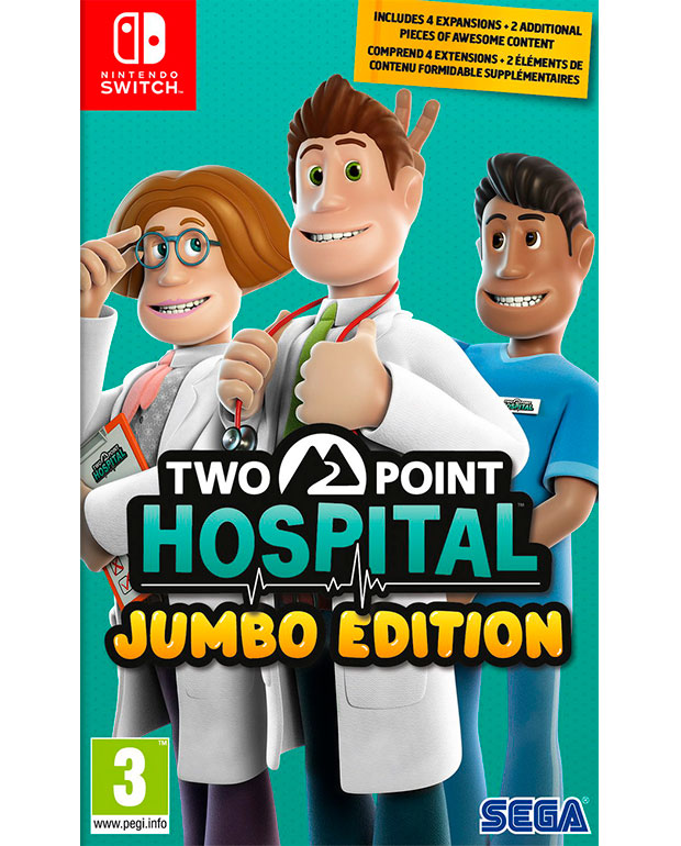 TWO POINT HOSPITAL JUMBO EDITION Nintendo Switch